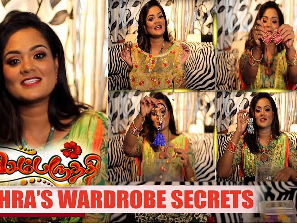 'Sembaruthi' Fame Bharatha Naidu Costume Secrets | Zee Tamil Sembaruthi Mithra Wardrobe Collection