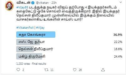Vijay 65 | Vikatan Poll