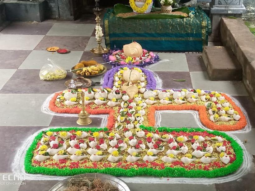 ஜம்புகேஸ்வரர் ஆலயத்தில் கார்த்திகை முதல் சோமவாரம் 108 சங்காபிஷேக விழா