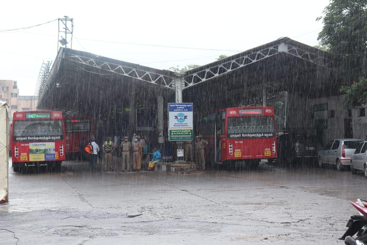 சென்னை - மழை