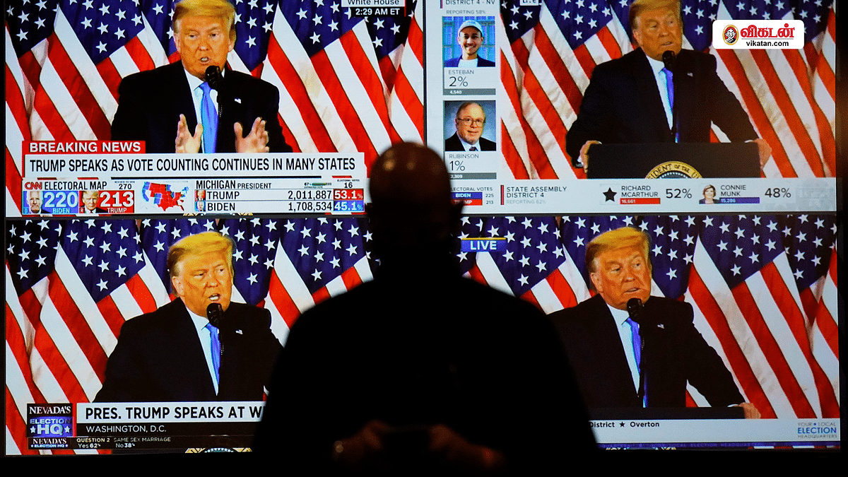 அமெரிக்க தேர்தல் டிராமா