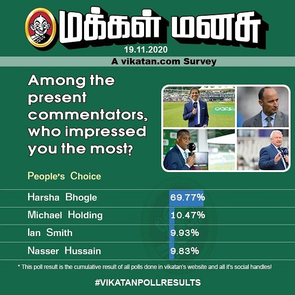 Among the present commentators, who impressed you the most?