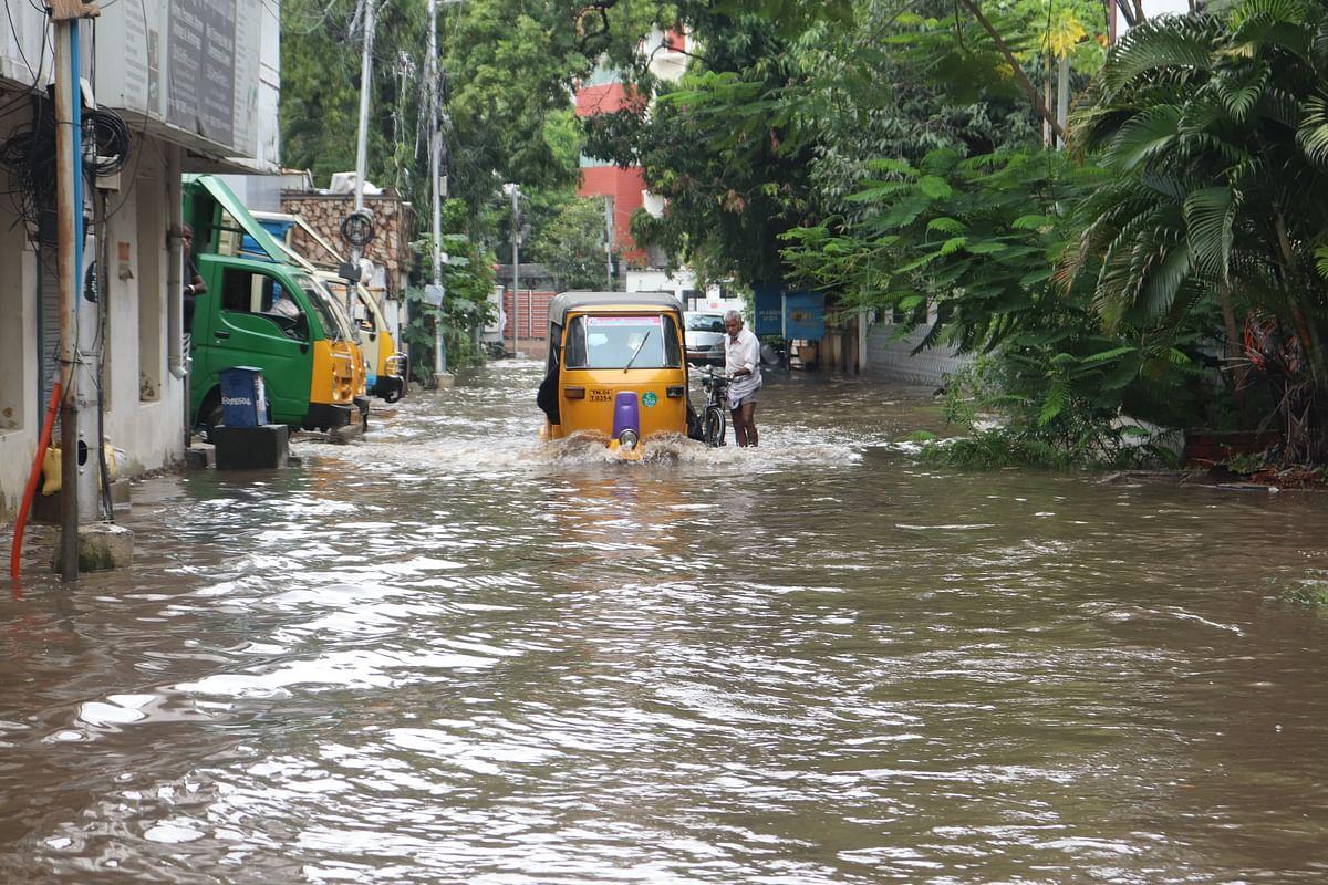 சென்னையில் கனமழை