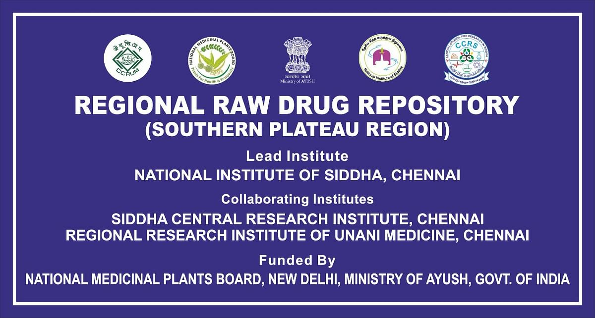 Regional Raw Drug Repository