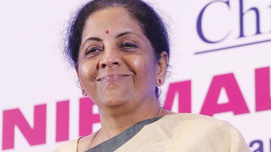 மத்திய நிதி அமைச்சர் நிர்மலா சீதாராமன்