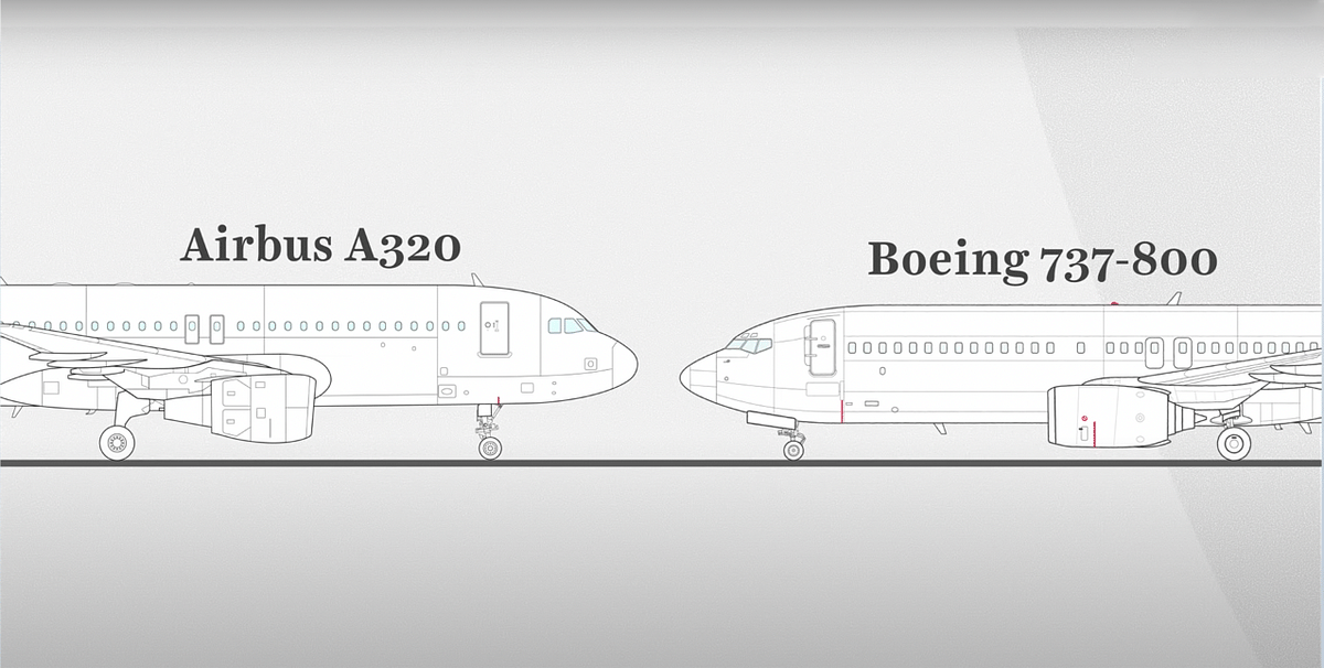 Airbus A320 v Boeing 737-800