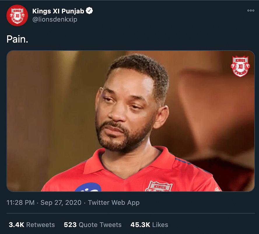 KXIP Social Media Viral Moments