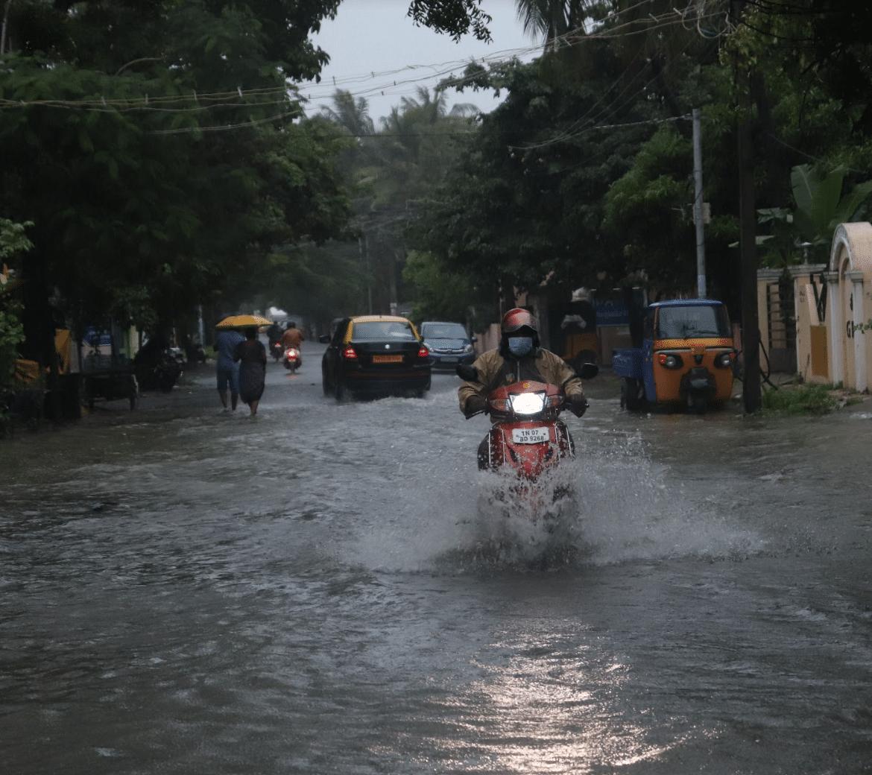 Automobiles usage after Nivar Cyclone