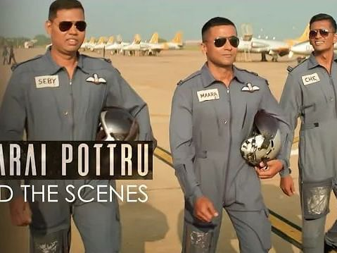 Soorarai Pottru Set Making Video | Jacki Narrates | Sudha Kongara | Suriya