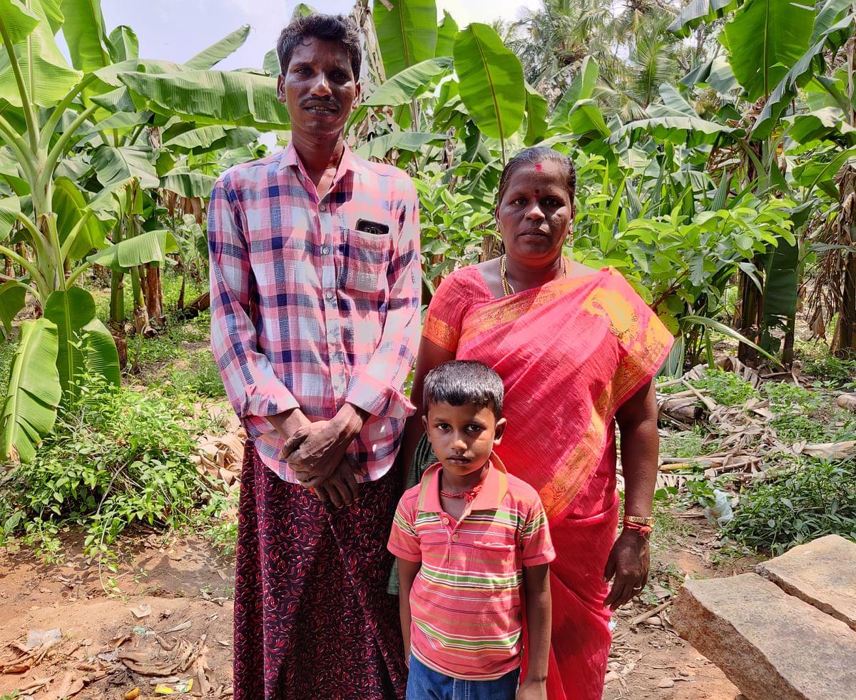 'ஈசன்' திரைப்படப்பாடகி தஞ்சை செல்வி குடும்பம்