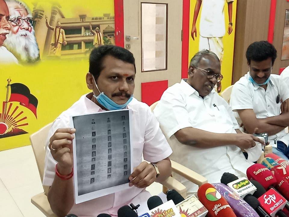 கரூர்: `கலெக்டர் மீது கோர்ட்டில் வழக்கு தொடுப்போம்!' - கொதிக்கும் செந்தில் பாலாஜி