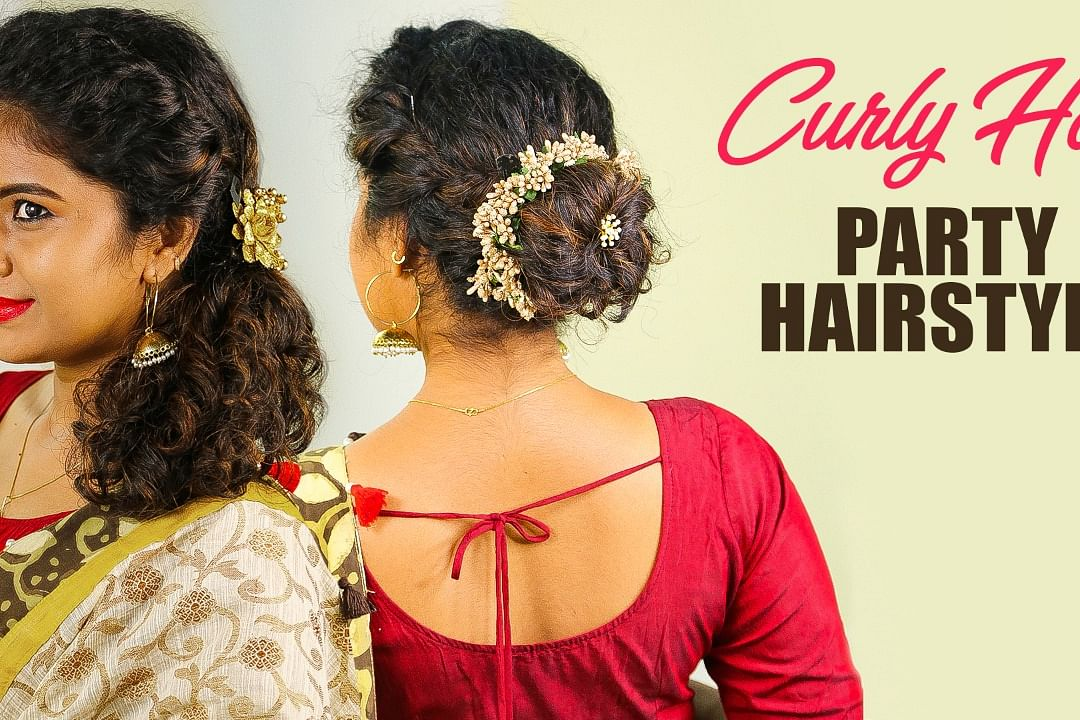 curly hair hairstyle
