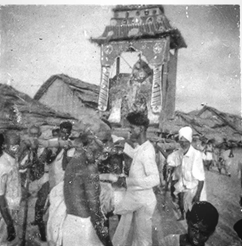 தனுஷ்கோடி மாரியம்மன் கோயில் திருவிழா ....