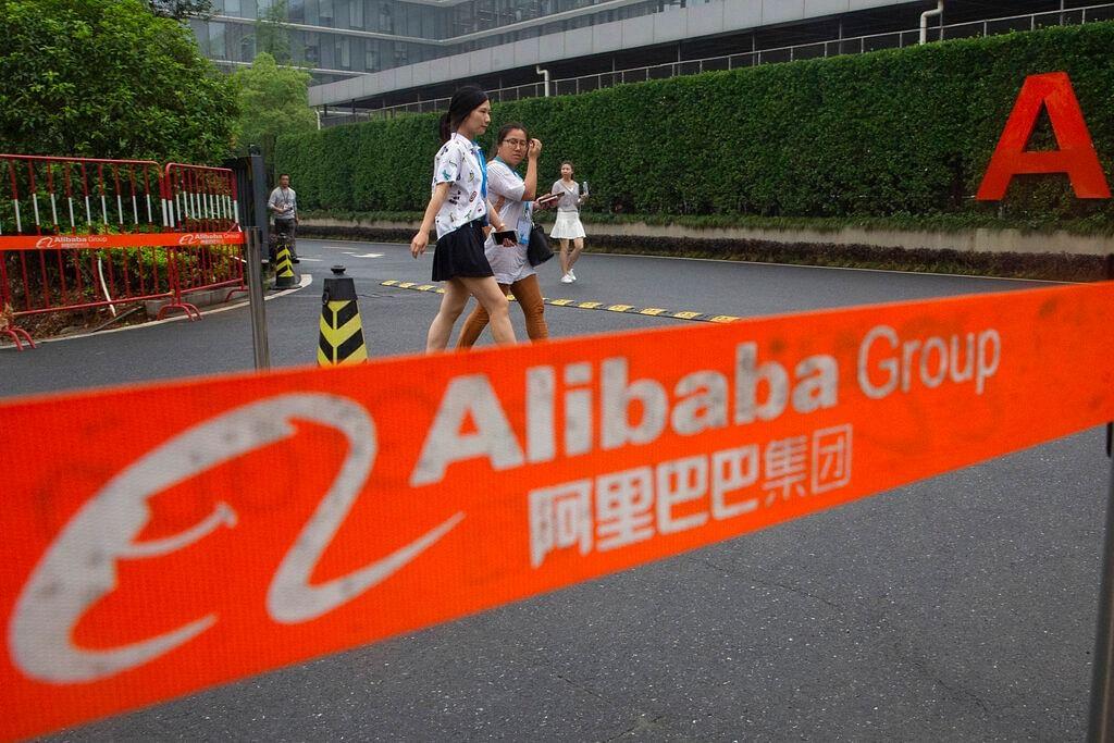 Alibaba Group headquarters in Hangzhou in eastern China's Zhejiang province