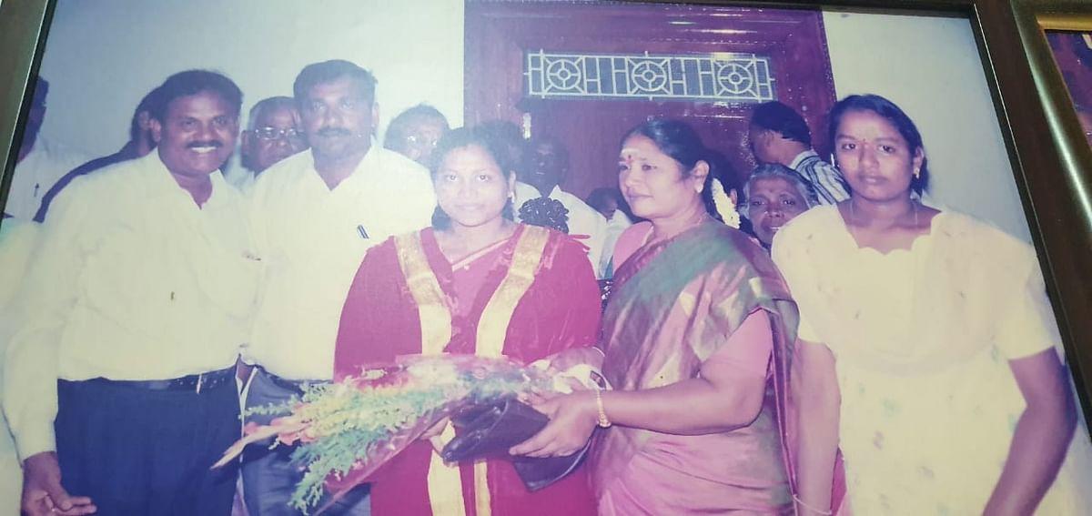 முன்னாள் மேயர் ரேகா பிரியதர்ஷிணி