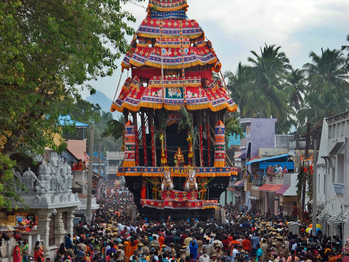 சுசீந்திரம் மார்கழி பெருந்தேர் திருவிழா