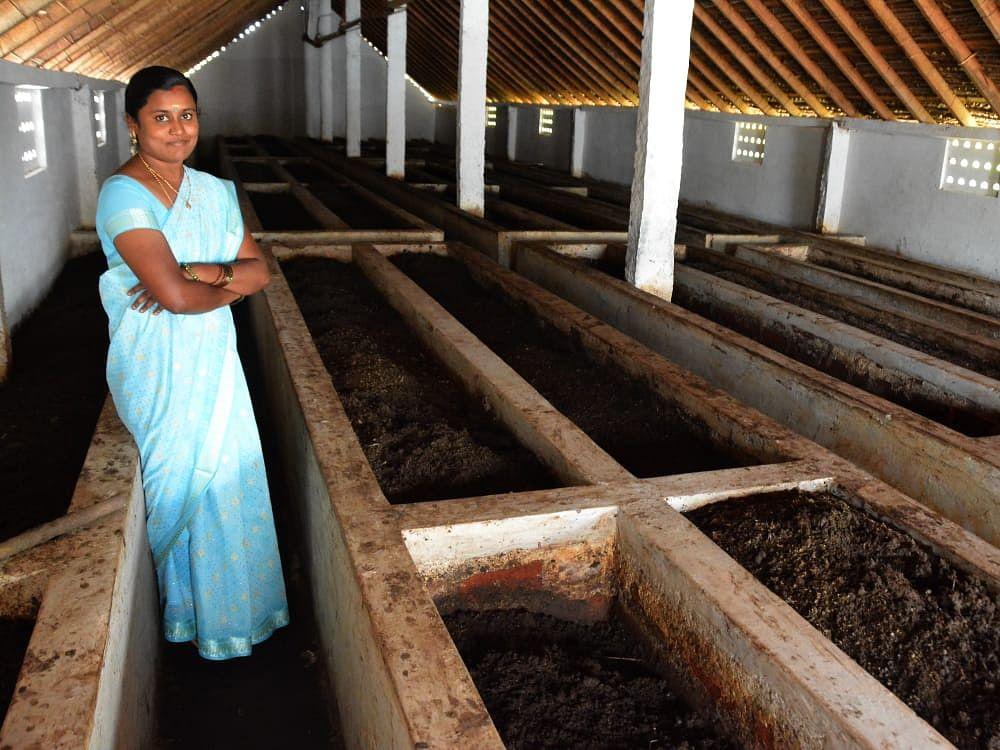 மண்புழு உரம் தயாரிப்பில் மாதம் ₹60,000 லாபம் ஈட்டும் ரம்யா... நீங்களும் கலக்கலாம்... எப்படி?