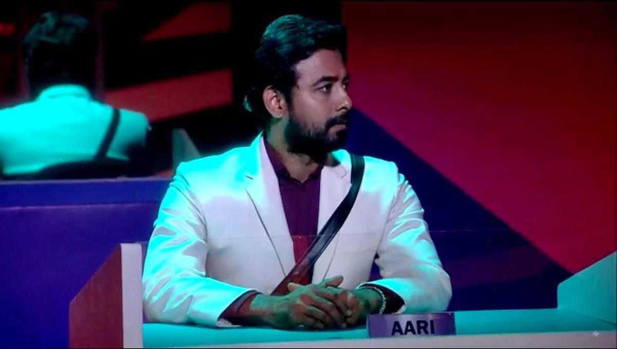 Bigg boss Aari Arjunan