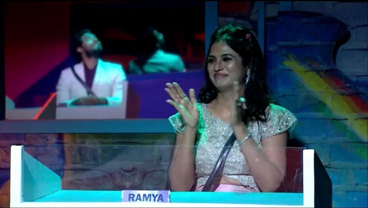 Bigg boss Ramya Pandian