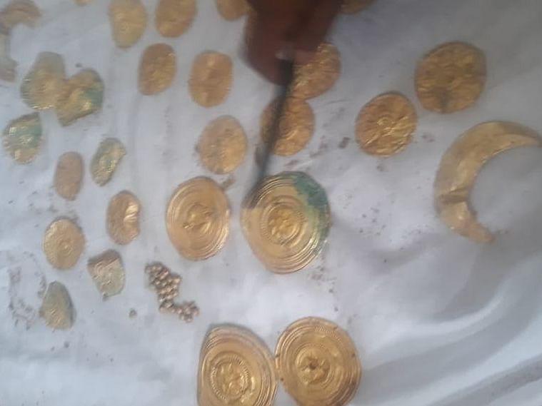 உத்தரமேரூர் கோவிலில் கிடைத்த தங்கப்புதையல்