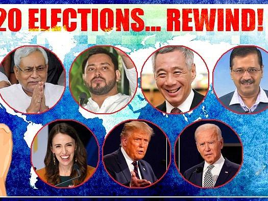2020 Rewind - `ஜனவரி முதல் டிசம்பவர் வரை' - உலக அளவில் நடந்து முடிந்த தேர்தல்கள் ஒரு பார்வை!