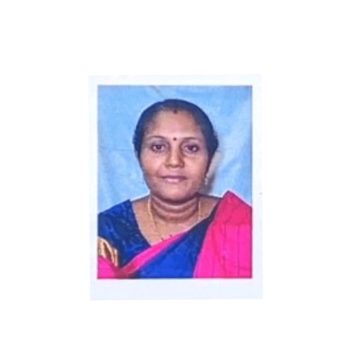 கொலை செய்யப்பட்ட ஆசிரியை சிவபாலா.