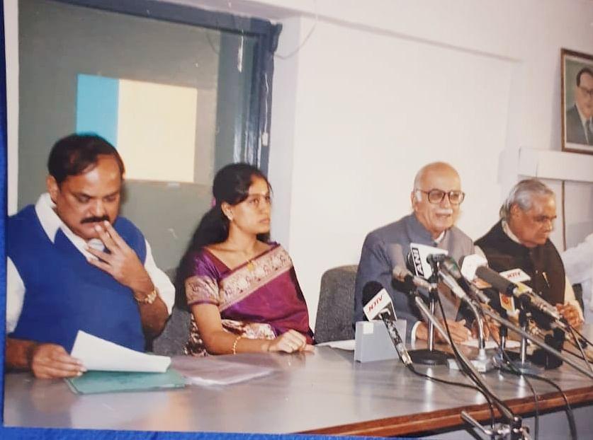 பா.ஜ.க மூத்த தலைவர்களுடன் விஜயசாந்தி
