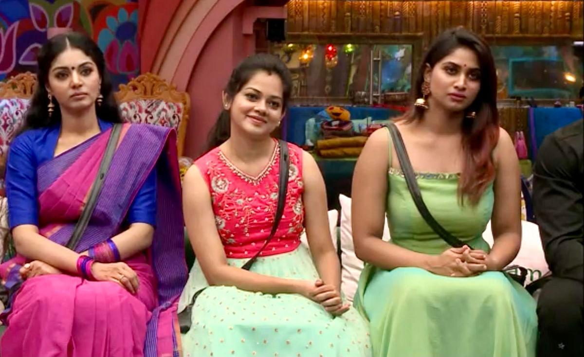 Bigg boss tamil Anitha, Sanam, Shivani