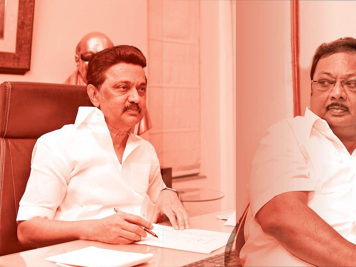 """மிஸ்டர் கழுகு: """"மாமா... மாப்ள!"""" - ரகசியமாகச் சந்திக்கும் அமைச்சர் - எதிர்க்கட்சித் தலைவர்..."""
