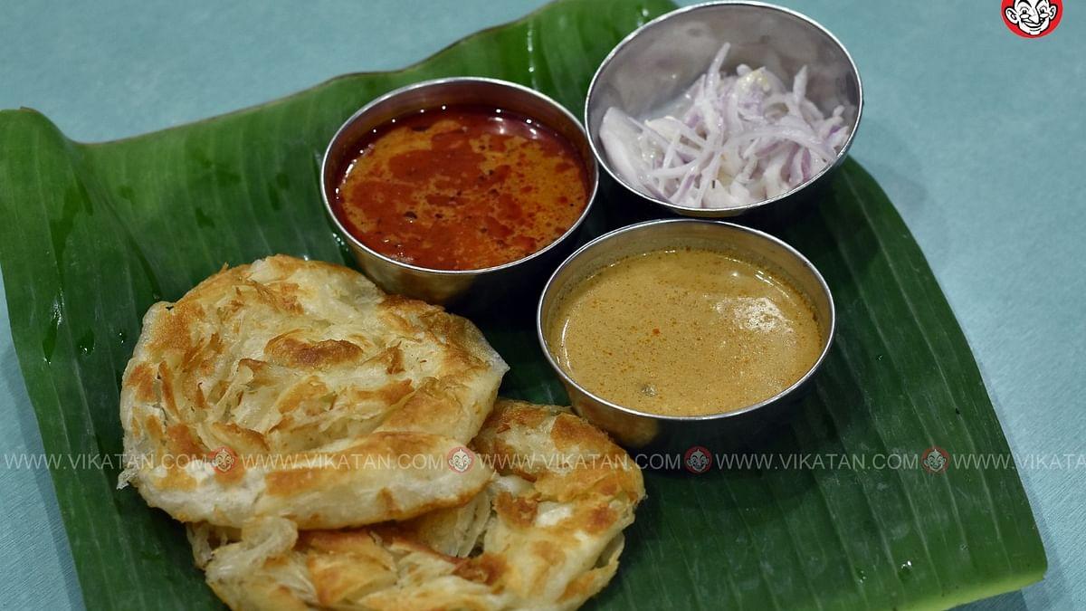 சுகன்யா ஹோட்டல் பரோட்டா