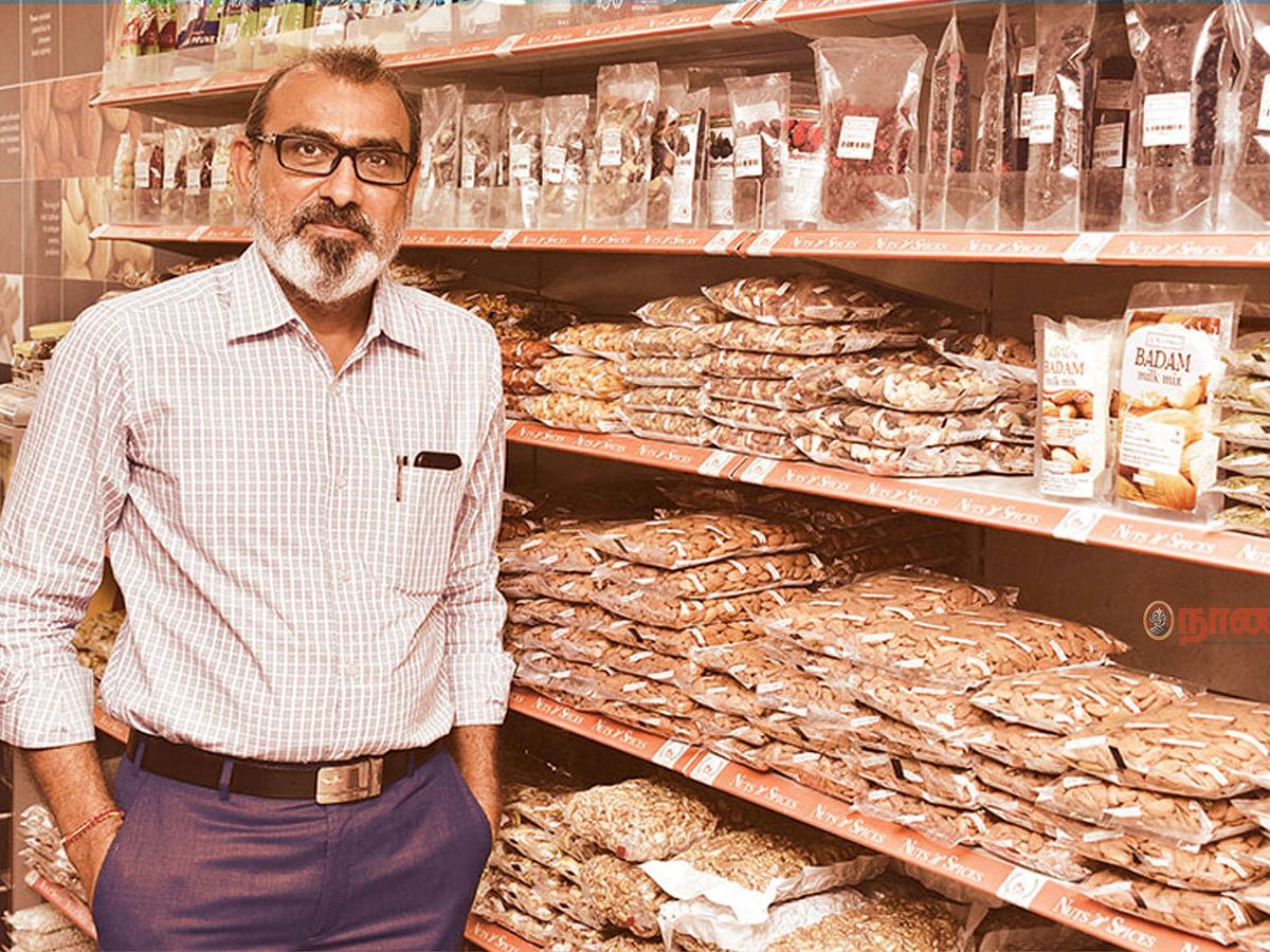 மளிகைக்கடை TO பிராண்ட் ஸ்டோர்... கலக்கல் Nuts N Spices! - சென்னை பிசினஸ்மேனின் வெற்றிப் பயணம்!