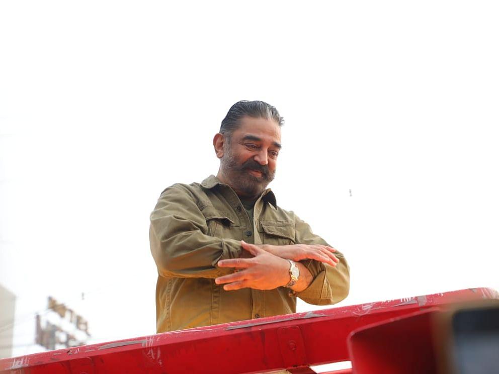 `மக்கள் நீதி மய்யத்துக்கு மீண்டும் டார்ச் சின்னம் ஒதுக்கப்பட்டிருக்கிறது!' - கமல்ஹாசன்  #NowAtVikatan