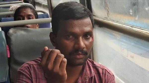 பேருந்தில் தப்பிய போலீஸ் ராமச்சந்திரன்