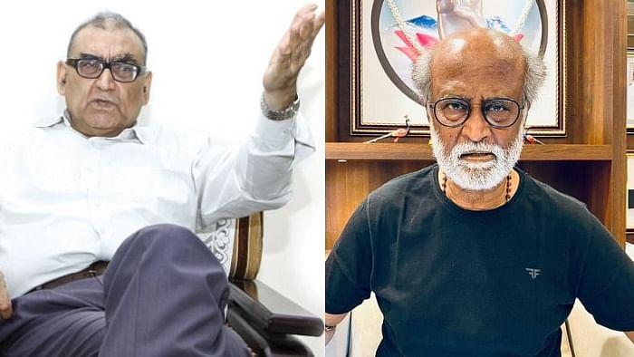 மார்க்கண்டேய கட்ஜு - ரஜினிகாந்த்