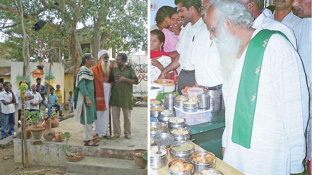 நம்மாழ்வாருடன் உஷா, ஸ்ரீதர்