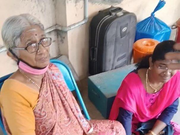 சென்னை: `வீட்டுக்குப் பூட்டு; நடுத்தெருவில் மூதாட்டி'- மகன்கள் மீது புகாரளித்த தாய்