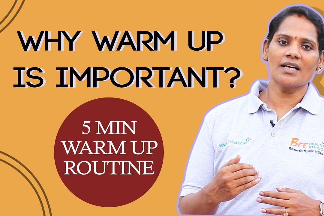 warm up routine