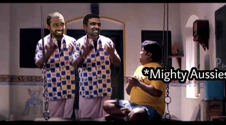 #AUSvIND Memes