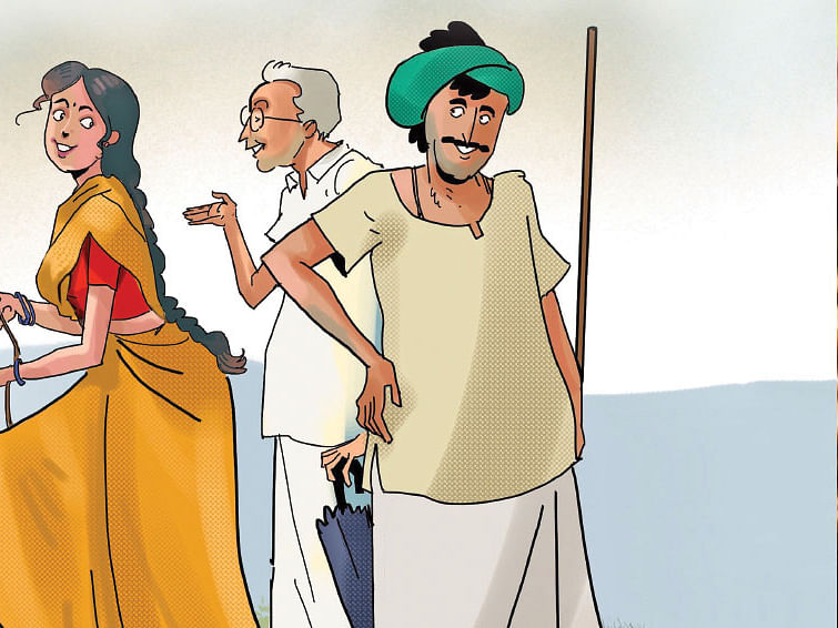 மரத்தடி மாநாடு: பண்ணைக் கருவிகளை மறந்த பல்கலைக்கழகம்!