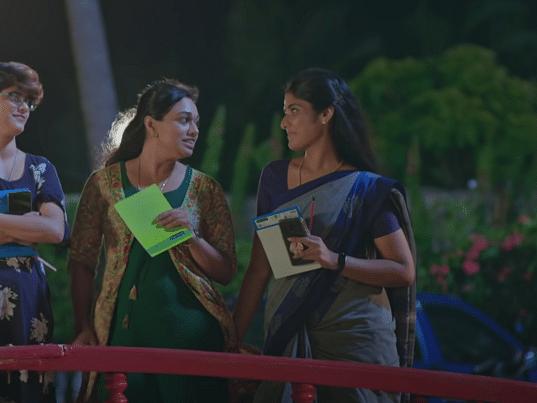 காயத்ரியின் கோபம், லோகேஷின் `டிவோர்ஸ்' ஐடியா... அபி சொல்வது சரிதானா? #VallamaiTharayo