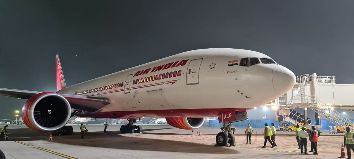 Air India Flight which travelled from San Fransico to Banglore
