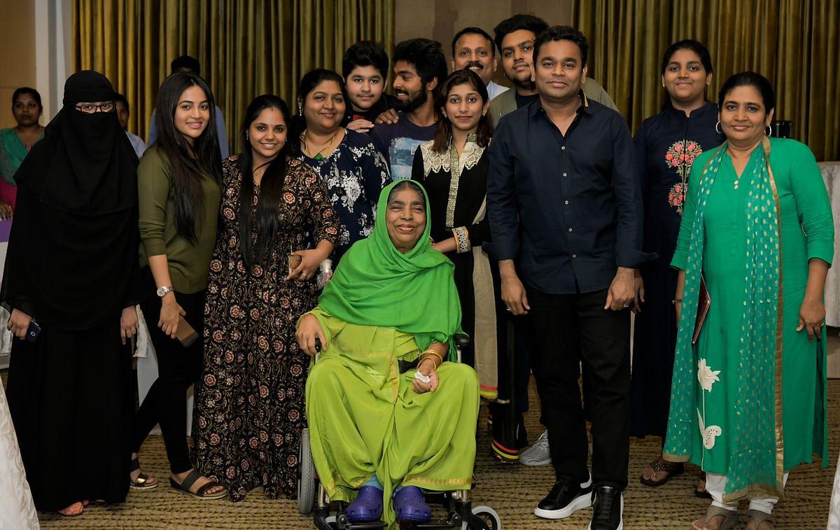 A.R.Rahman Family