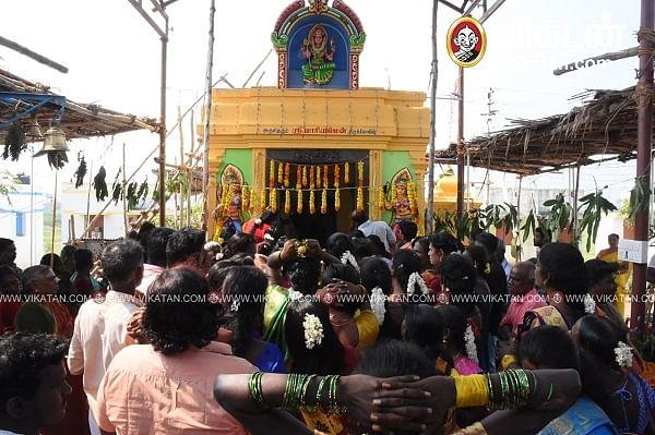 திருநங்கைகள் கட்டிய அம்மன் கோயில்