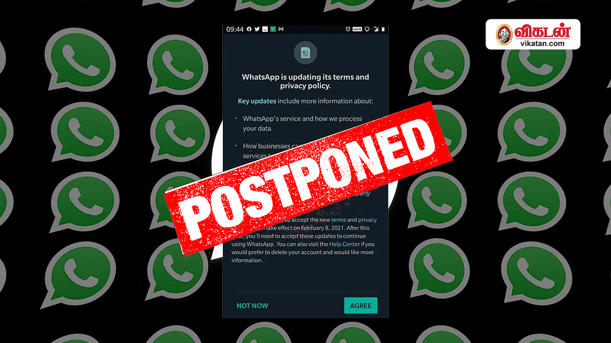 Whatsapp Privacy Policy postponed