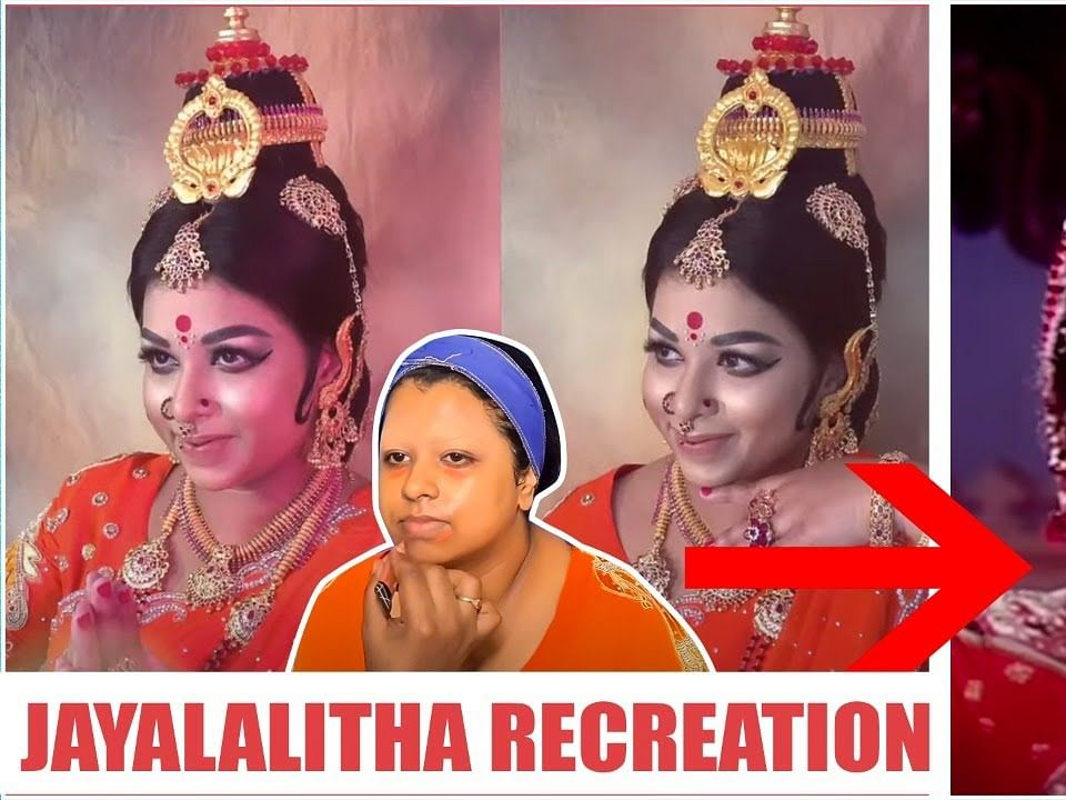 Jayalalithaa Makeup Recreation - Makeup Artist Kannan Rajamanickam