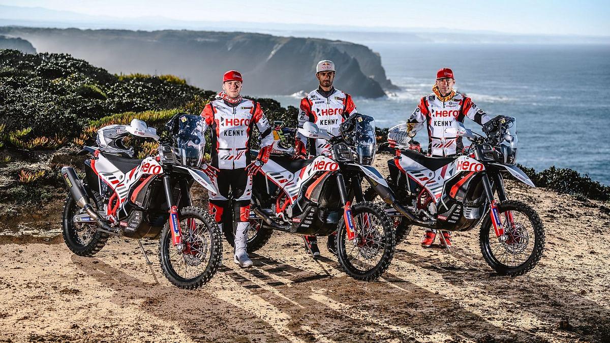 Hero Dakar Rally Riders