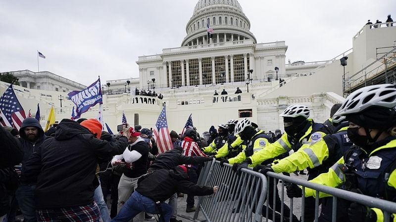 US Capitol Unrest