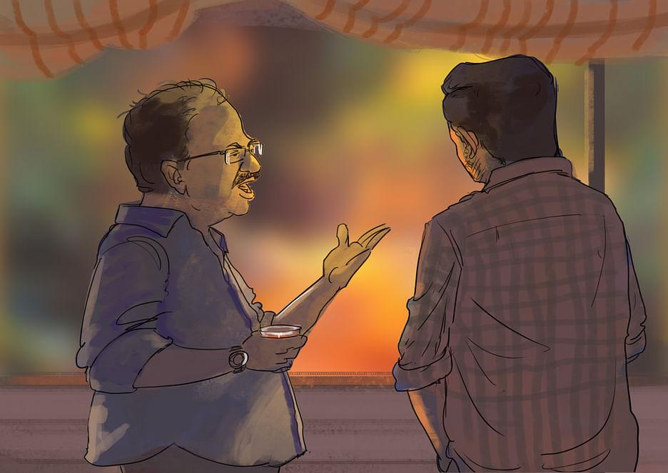 இடியட் பாக்ஸ் - 33 : ஏஞ்சலின் வீட்டில் மார்க்ஸ்... உப்புமா எப்படி?! | Idiot  Box Part 33: Marx visits Angel's house... Later confronts Divya