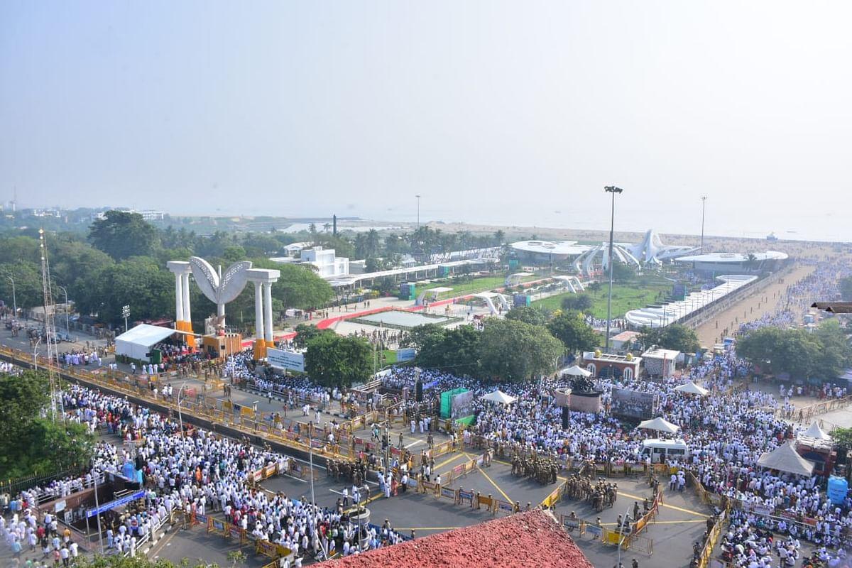 ஜெயலலிதா நினைவிடத் திறப்பு விழா