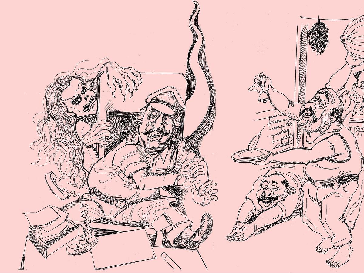 காவல் நிலையத்தில் பரிகார பூஜை... காரைக்கால் போலீஸாரை மிரட்டும் ஆவி?